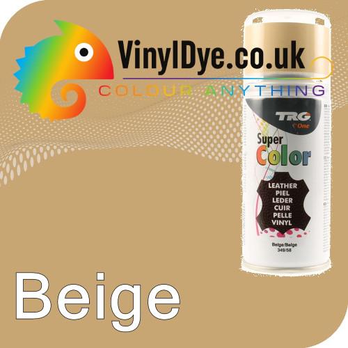 TRG Beige Vinyl Dye Plastic Paint Aerosol 150ml 349
