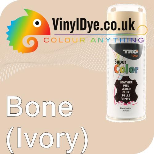 TRG Bone (Ivory) Vinyl Dye Plastic Paint Aerosol 150ml 351