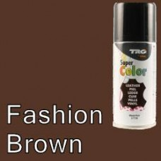 TRG Fashion Brown Vinyl Dye Plastic Paint Aerosol 150ml 306