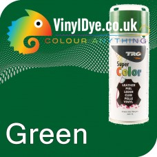 TRG Green Vinyl Dye Plastic Paint Aerosol 150ml 322