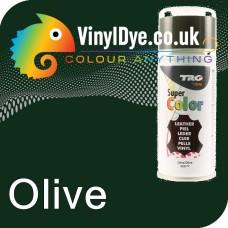 TRG Olive Vinyl Dye Plastic Paint Aerosol 150ml