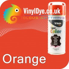 TRG Orange Vinyl Dye Plastic Paint Aerosol 150ml