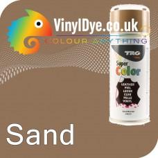 TRG Sand Vinyl Dye Plastic Paint Aerosol 150ml 348