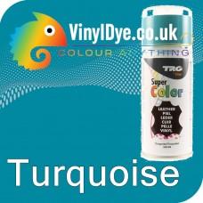 TRG Turquoise Vinyl Dye Plastic Paint Aerosol 150ml 330