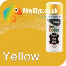 TRG Yellow Vinyl Dye Plastic Paint Aerosol 150ml 360