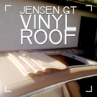 Vinyl Roof after being Vinyl Dyed, Still works great