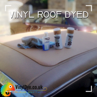 Products used to refurbish Vinyl Roof