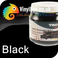 TRG Black leather dye restore and repair food Black 300ml 118
