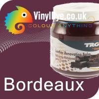 TRG leather dye restore and repair food Bordeaux 300ml