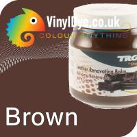 TRG leather dye restore and repair food Brown 300ml