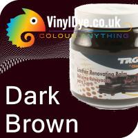 TRG leather dye restore and repair food Dark Brown 300ml