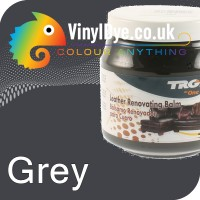 TRG leather dye restore and repair food Grey 300ml