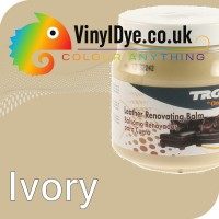 TRG leather dye restore and repair food Ivory 300ml
