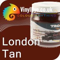 TRG leather dye restore and repair food London Tan 300ml