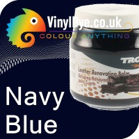 TRG leather dye restore and repair food Navy Blue 300ml