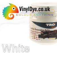TRG leather dye restore and repair food White 300ml