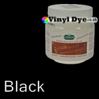 TRG Black leather dye restore and repair food Black 300ml