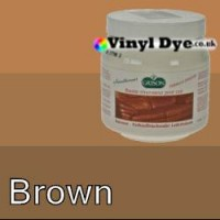 TRG leather dye restore and repair food Brown 300ml