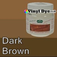 TRG leather dye restore and repair food Dark Brown 300ml
