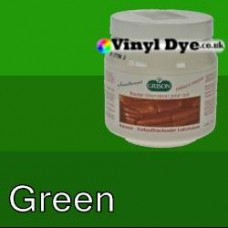 TRG leather dye restore and repair food Green 300ml