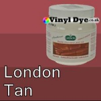 TRG leather dye restore and repair food London Tan 300ml