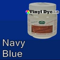 TRG leather dye restore and repair food Navy Blue 300ml