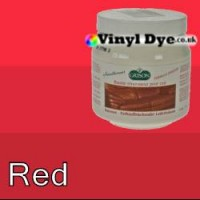 TRG leather dye restore and repair food Red 300ml