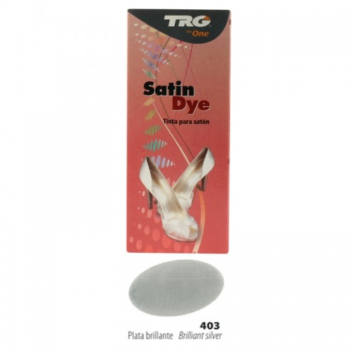 """Brilliant Silver Satin Dye Kit by TRG """"the One"""""""
