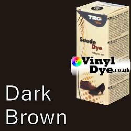 """Dark Brown Suede Dye Kit by TRG """"the One"""" 106"""