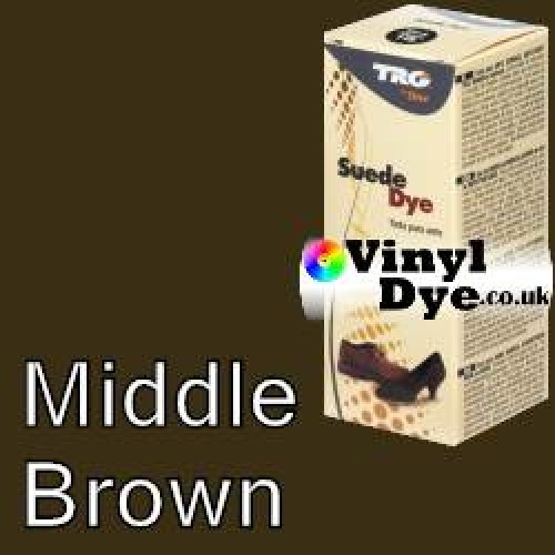 """Middle Brown Suede Dye Kit by TRG """"the One"""""""