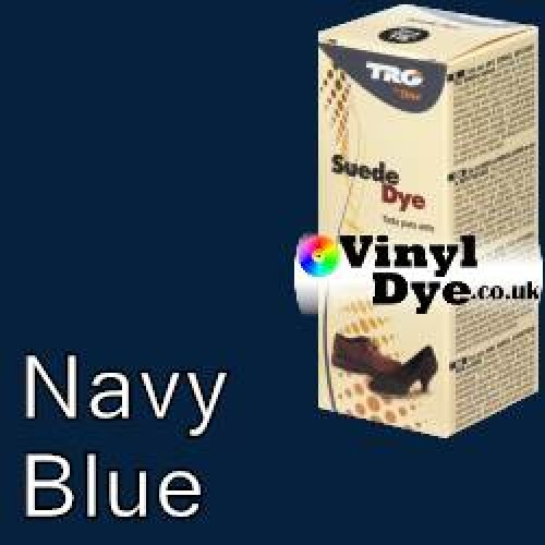 """Navy Blue Suede Dye Kit by TRG """"the One"""" 117"""