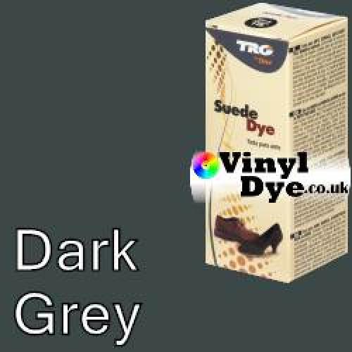 "Dark Grey Suede Dye Kit by TRG ""the One"" 115"