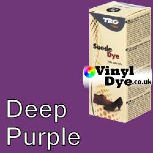 """Deep Purple Suede Dye Kit by TRG """"the One"""" 182"""