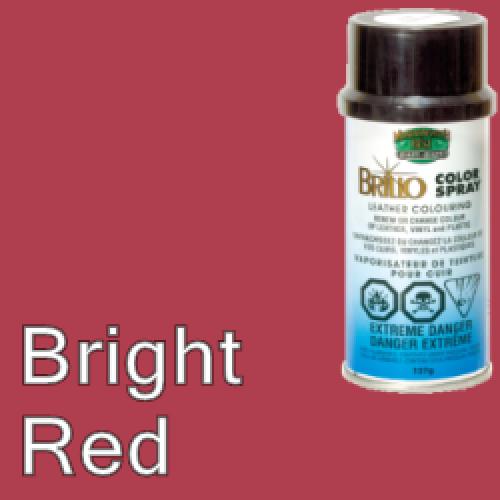 Bright Red Brillo Aerosol 150ml Vinyl Dye Plastic Paint 21