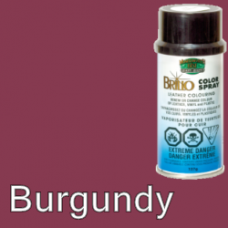 Burgundy Brillo Aerosol 150ml Vinyl Dye Plastic Paint