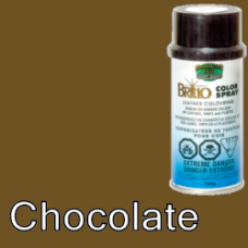 Chocolate (Like Brown) Brillo Aerosol 150ml Vinyl Dye Plastic Paint
