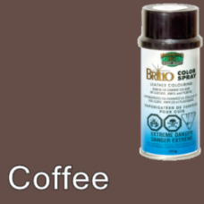 Coffee (Like Dark Brown) Brillo Aerosol 150ml Vinyl Dye Plastic Paint