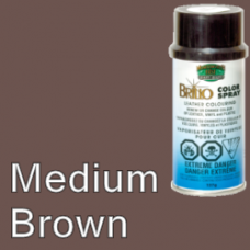 Medium Brown Brillo Aerosol 150ml Vinyl Dye Plastic Paint