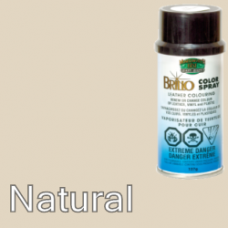 Natural (Like White - Cream) Brillo Aerosol 150ml Vinyl Dye Plastic Paint
