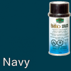 Navy (Like Dark Blue) Brillo Aerosol 150ml Vinyl Dye Plastic Paint
