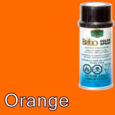Orange Brillo Aerosol 150ml Vinyl Dye Plastic Paint