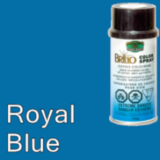 Royal Blue Brillo Aerosol 150ml Vinyl Dye Plastic Paint