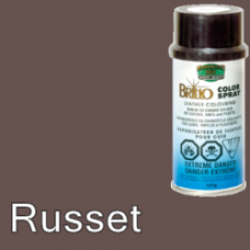 Russet (Like Dark Brown) Brillo Aerosol 150ml Vinyl Dye Plastic Paint