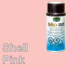Shell Pink Brillo Aerosol 150ml Vinyl Dye Plastic Paint
