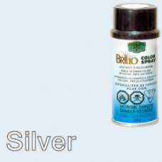 Silver Brillo Aerosol 150ml Vinyl Dye Plastic Paint