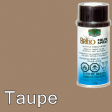 Taupe (Like Brown) Brillo Aerosol 150ml Vinyl Dye Plastic Paint