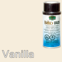 Vanilla (Like Cream) Brillo Aerosol 150ml Vinyl Dye Plastic Paint