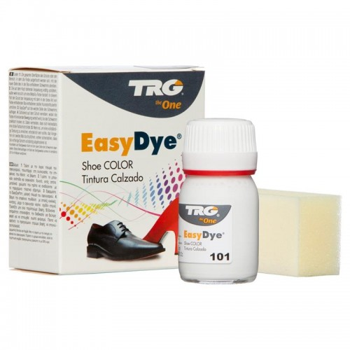 White Easy Leather Dye Kit including Preparer by TRG the One 101