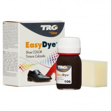 Dark Brown Easy Leather Dye Kit including Preparer by TRG the One