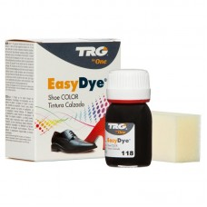 Black Easy Leather Dye Kit including Preparer by TRG the One
